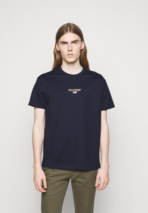 SHORT SLEEVE - Print T-shirt - cruise navy