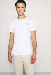 Replay - TEE - Basic T-shirt - white - 3