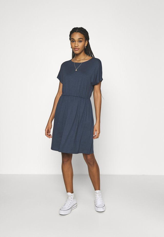 Sukienka letnia - ombre blue