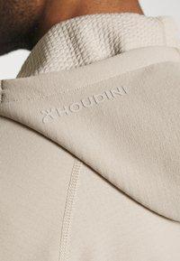 Houdini - MONO AIR - Zip-up hoodie - sandstorm - 6