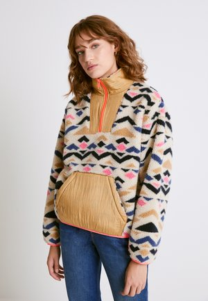 ARIZONA SHERPA - Fleece jumper - almond milk