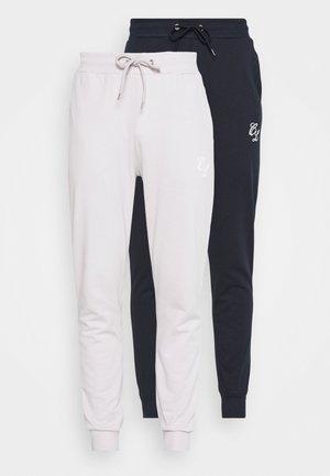 SIGNATURE 2 PACK - Pantaloni sportivi - navy/white