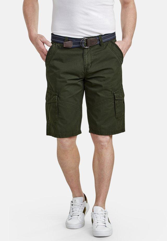 LERROS CARGO-BERMUDA - Shorts - olive