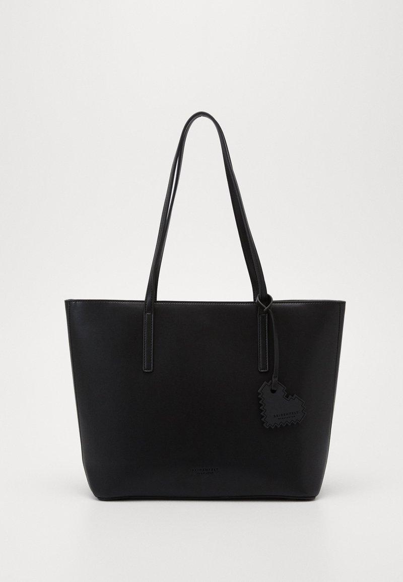 Seidenfelt - LYNGDAL - Tote bag - black