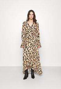 Fabienne Chapot - TASH DRESS - Maxi dress - beige/black/brown - 0
