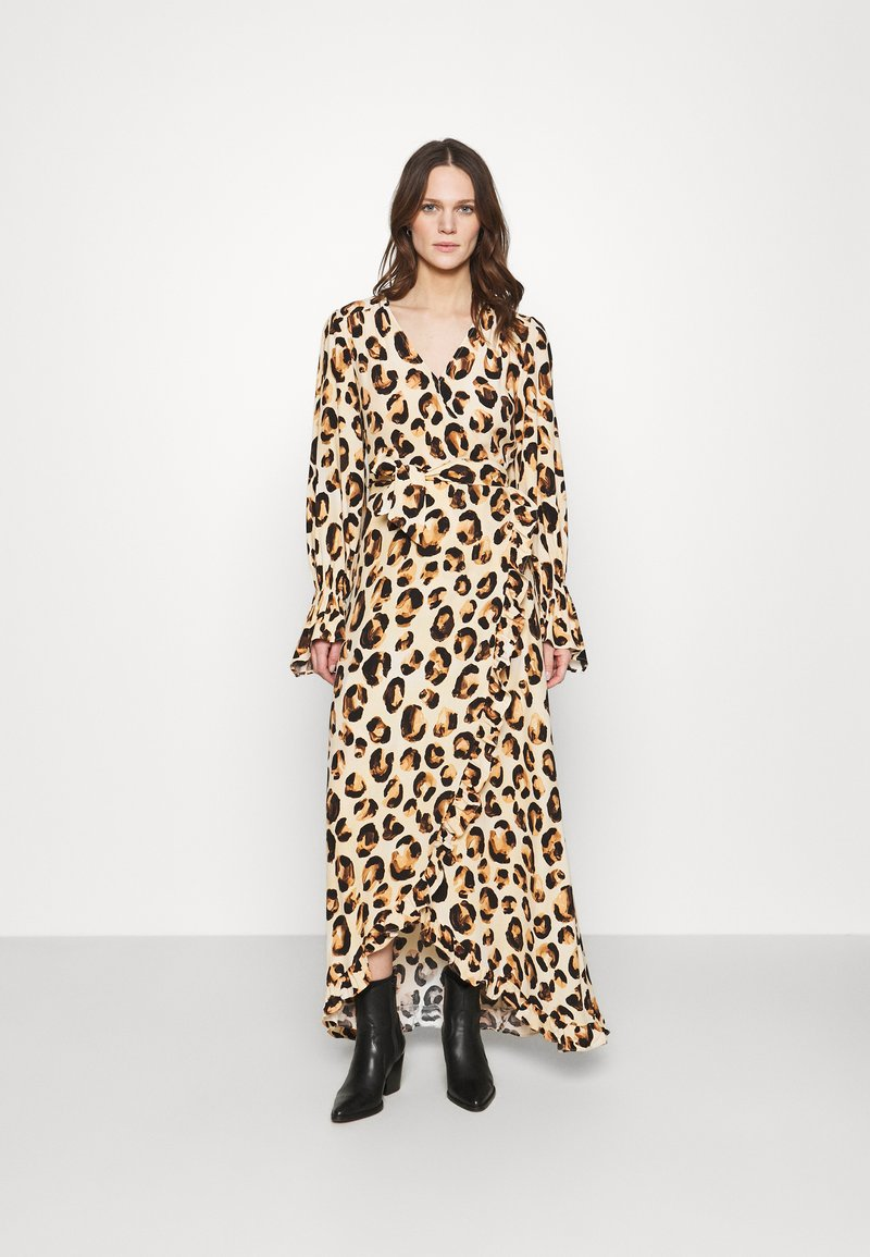 Fabienne Chapot - TASH DRESS - Maxi dress - beige/black/brown