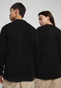 Napapijri - PATCH - Long sleeved top - black - 3