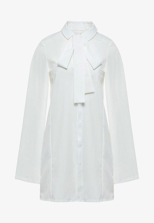RISA Koszula - ecru/biały JXQK