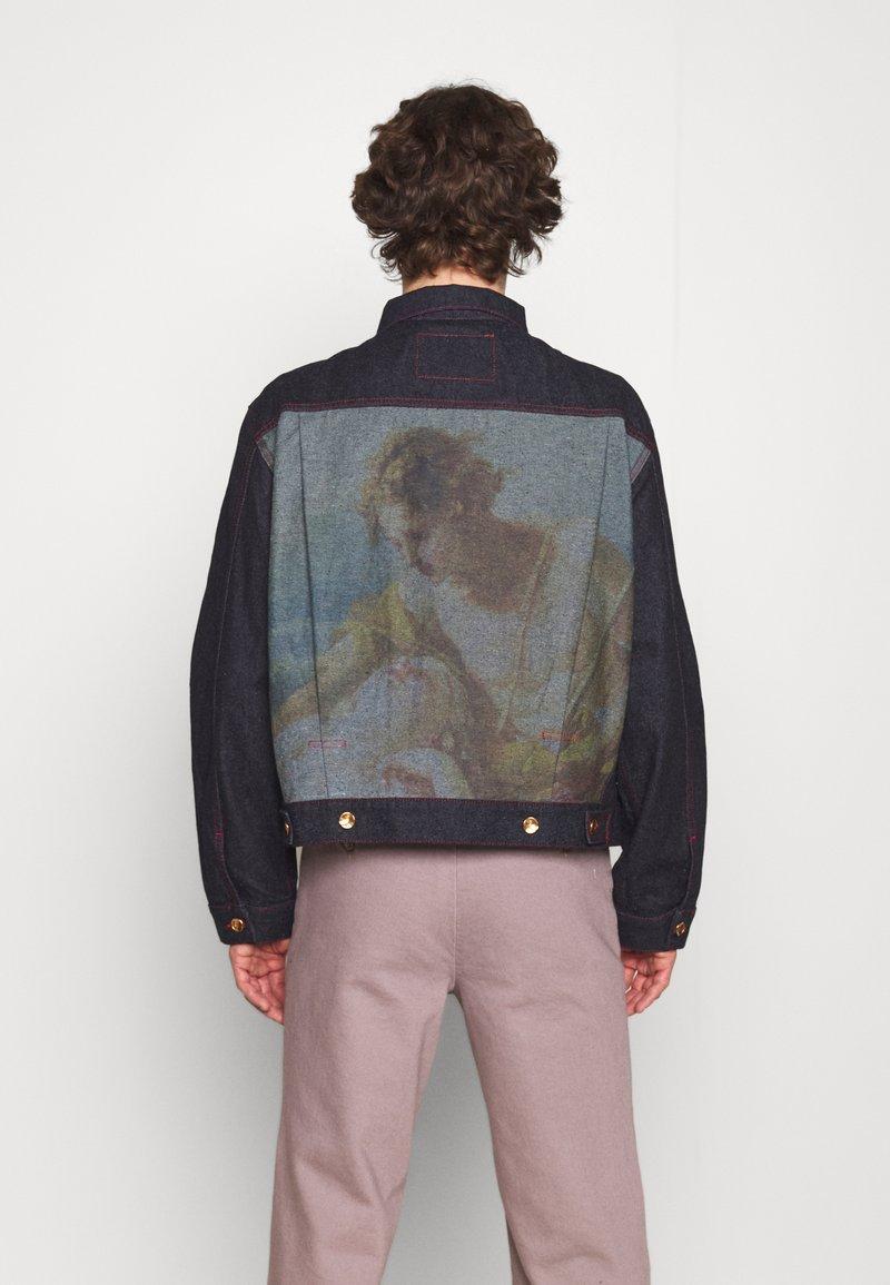 Vivienne Westwood - MARLENE JACKET - Denim jacket - indigo