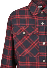 Urban Classics - OVERSIZED  - Button-down blouse - midnightnavy/red - 11
