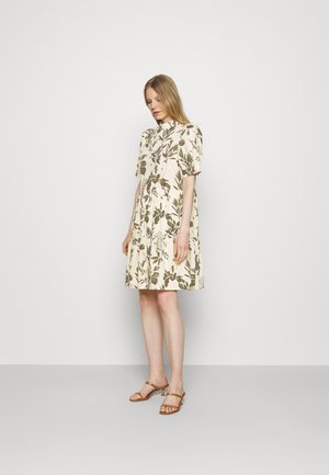 DRESS SHORT PUFF SLEEVE - Day dress - multi/bluegrass