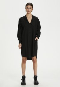 Gestuz - JILAN DRESS - Shirt dress - black - 1