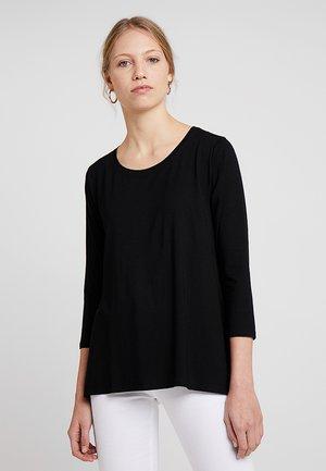 CILLA BASIC - Long sleeved top - black