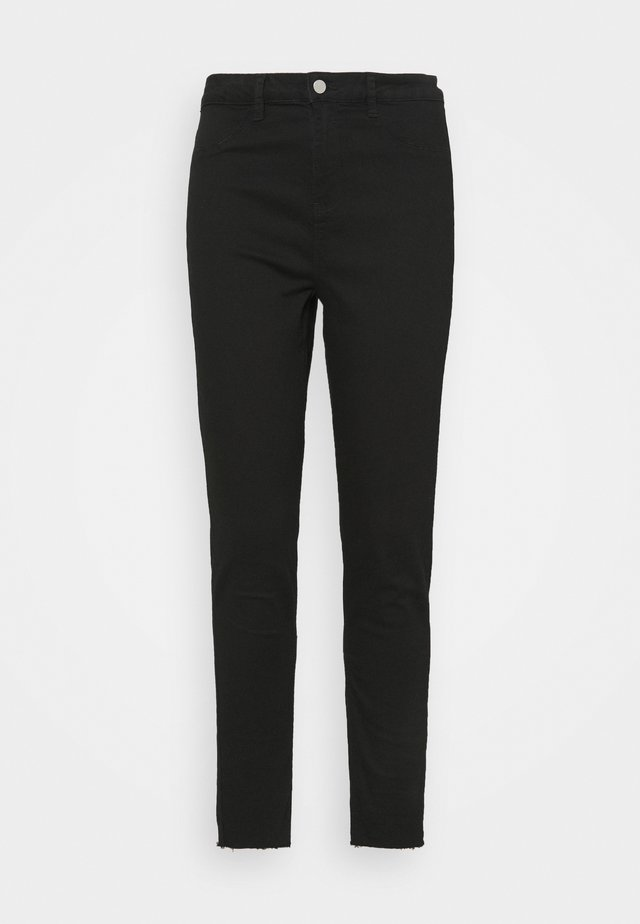 LAWLESS HIGHWAISTED SUPERSOFT - Jeans Skinny Fit - black