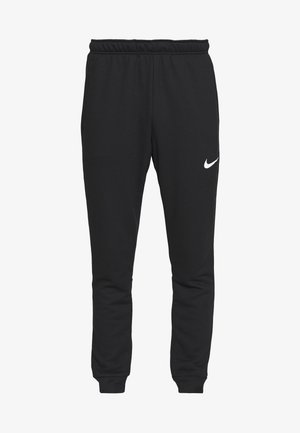 DRY PANT TAPER - Tracksuit bottoms - black/white