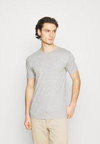 Denim Project - 10 PACK  - T-shirt basique - black/white/light grey melange - 3