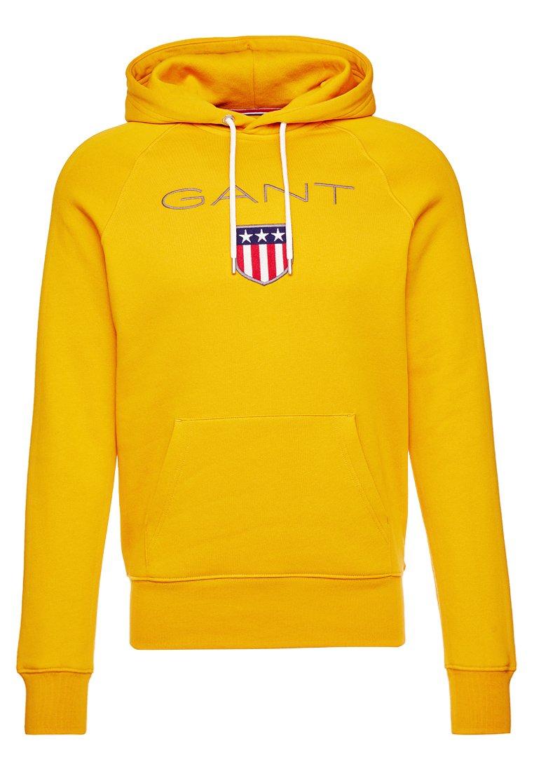 Gant Shield Hoodie - Ivy Gold