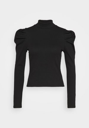RONJA - Long sleeved top - black