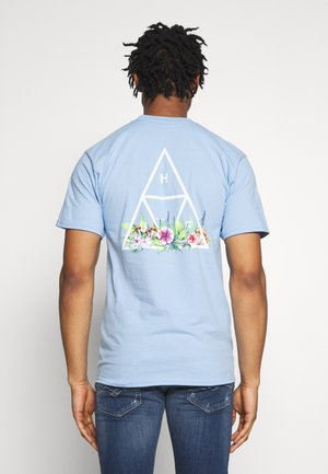BOTANICAL GARDEN TEE - Print T-shirt - light blue