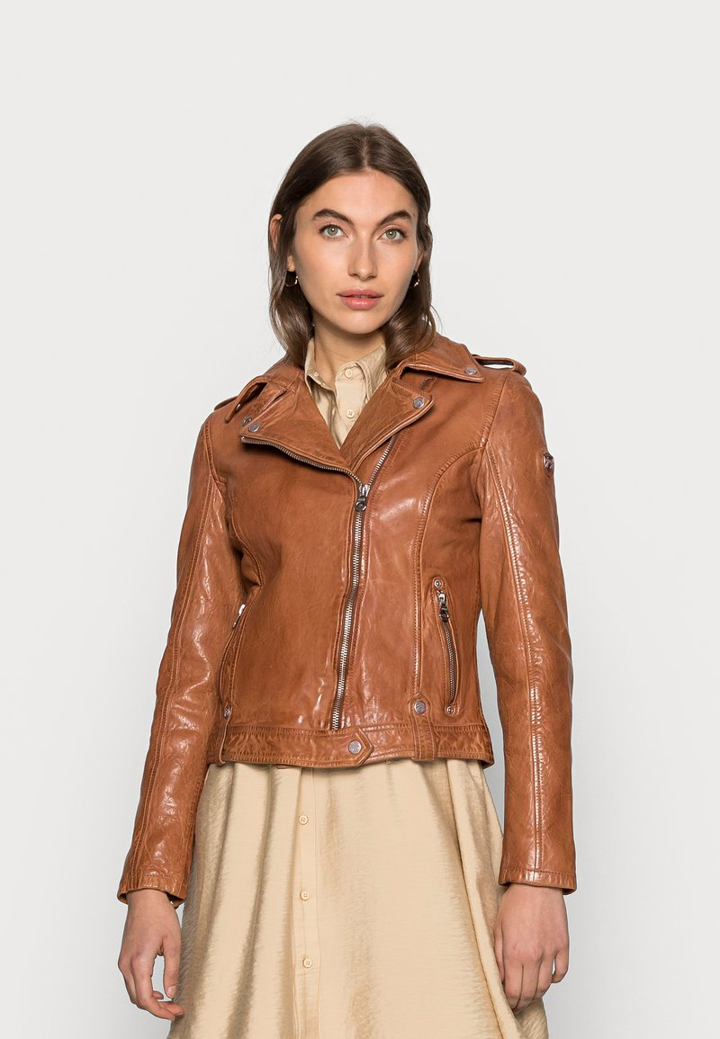 Gipsy - Leather jacket - cognac