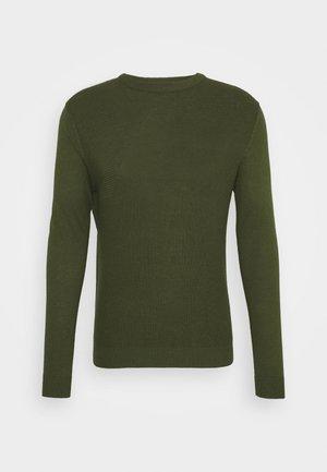 JCOWADE - Stickad tröja - rifle green