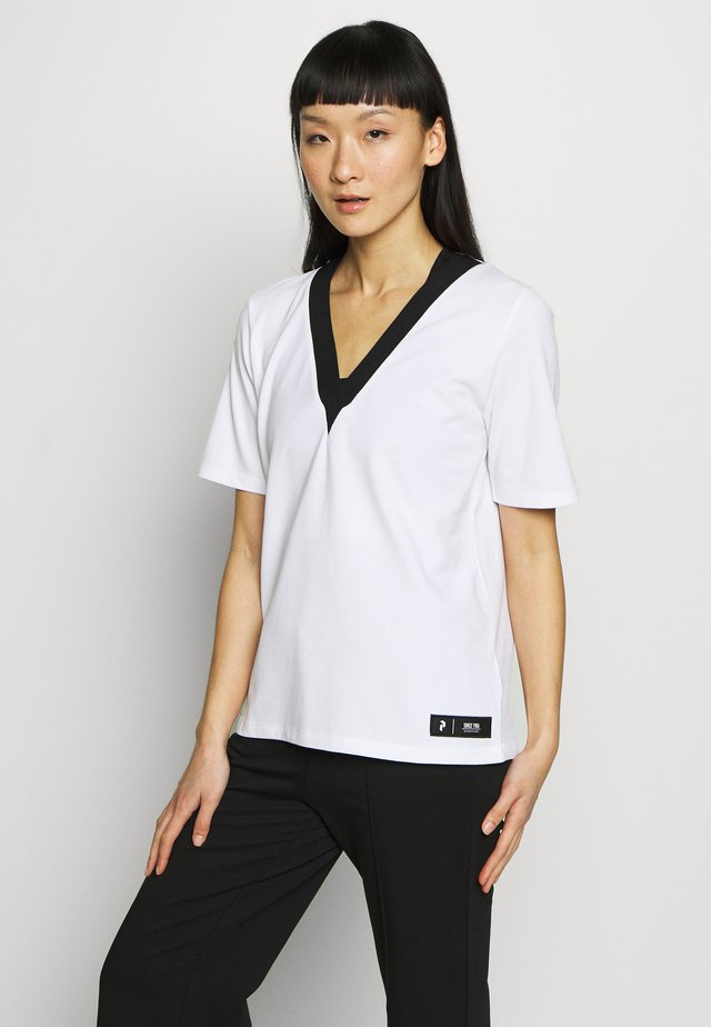 TECH - T-shirt print - white