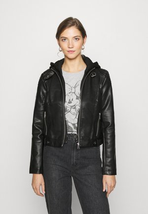 VMCORTNEY  - Veste en similicuir - black