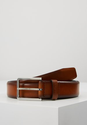 BOMBED BELT - Pasek - brown