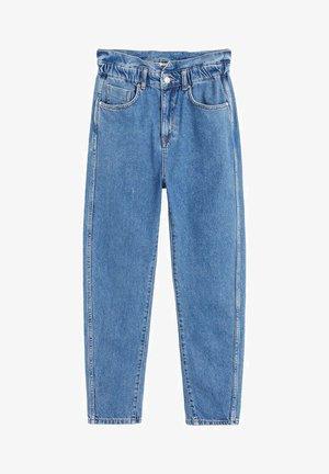 SLOUCHY JEANS MIT STRETCHBUND - Straight leg jeans - mittelblau