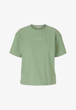 Basic T-shirt - light mint green