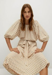 Mango - PICNIC - Maxi skirt - beige - 3