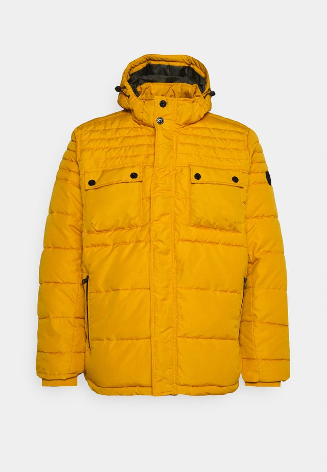 LANGARM - Vinterjakke - yellow