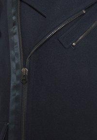 G-Star - BIKER LONG COAT - Classic coat - mazarine blue - 3