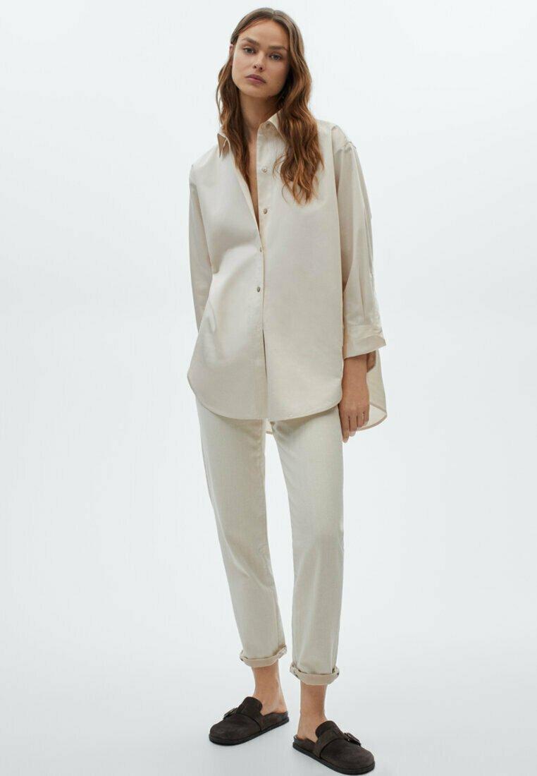 Massimo Dutti - Pantalon classique - beige
