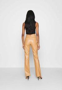 Missguided - TROUSER - Pantalon classique - tan - 2
