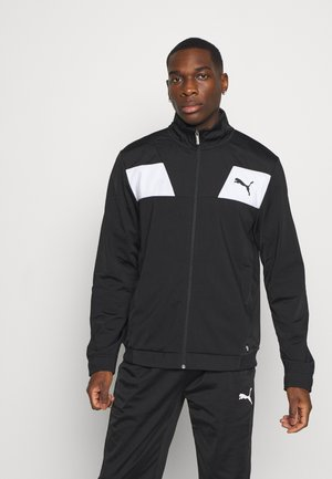 TECHSTRIPE TRICOT SUIT - Tracksuit - black