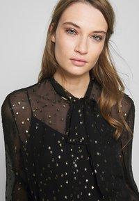 KARL LAGERFELD - Button-down blouse - black - 3