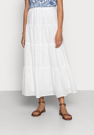 BOHO - A-lijn rok - white