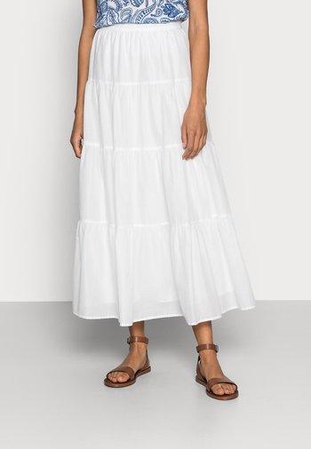 BOHO - A-line skirt - white