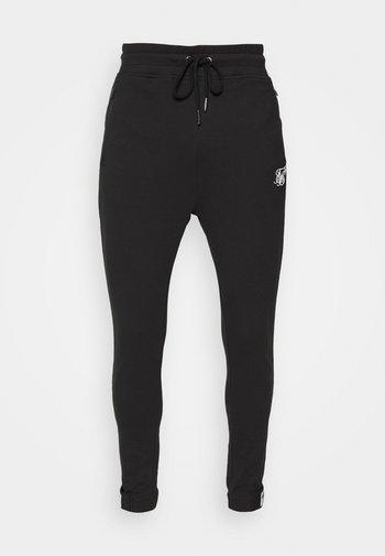 ACTIVE TAPE CUFF PANTS - Pantaloni sportivi - black