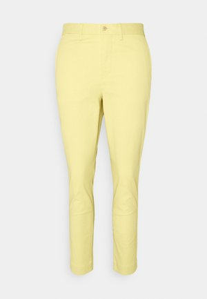 MODERN STRETCH - Trousers - yellow