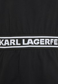 KARL LAGERFELD - LOGO TAPE - Pyjama top - black - 6