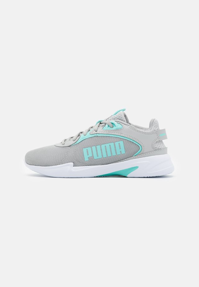 JARO FRESH - Neutral running shoes - gray violet/aruba blue