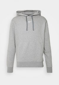 Nike Sportswear - REPEAT HOODIE  - Hoodie - grey heather/white