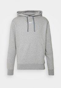 HOODIE  - Hoodie - grey heather/white