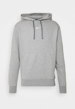 HOODIE  - Luvtröja - grey heather/white