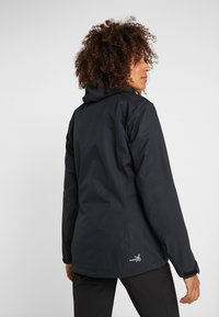 Salewa - AQUA - Hardshell jacket - black out - 2
