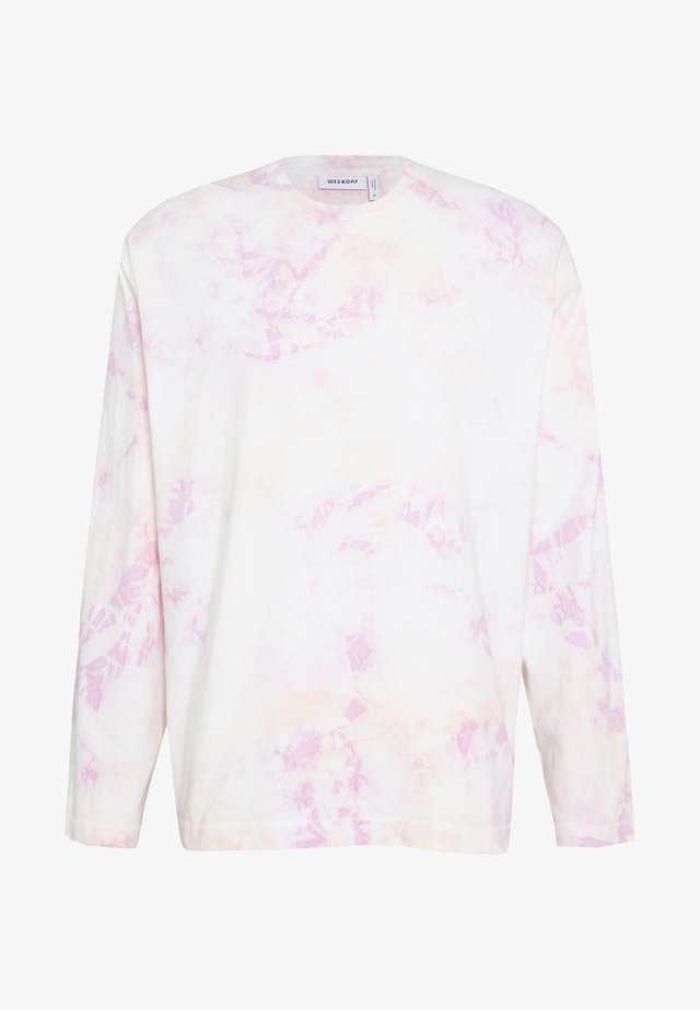 CHEM WASHED LONGSLEEVE - Long sleeved top - purple