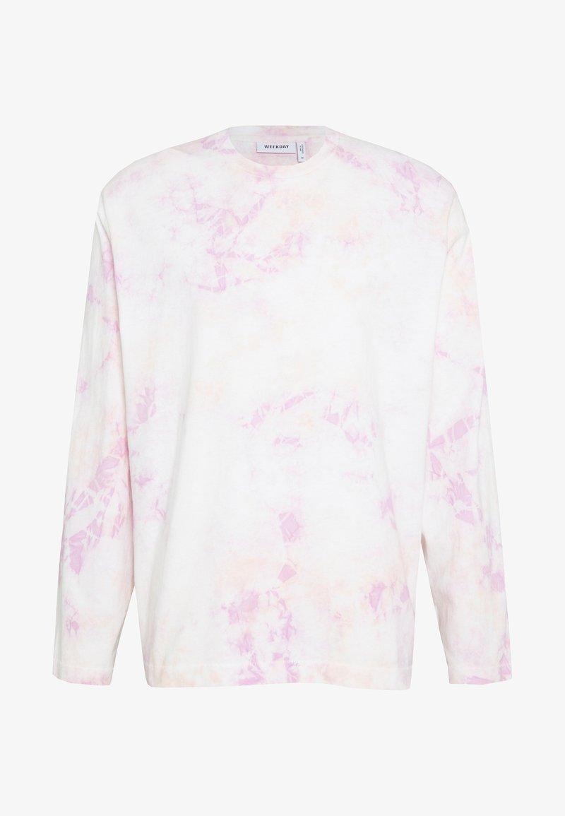 Weekday - CHEM WASHED LONGSLEEVE - Pitkähihainen paita - purple