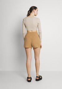 ONLY - ONLMAGO LIFE - Shorts - toasted coconut - 0